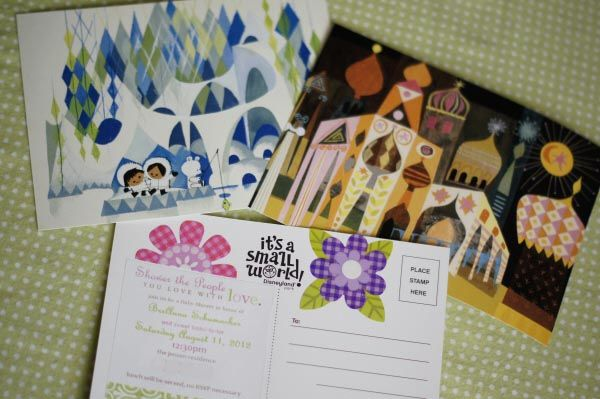 Small World Party Invitations