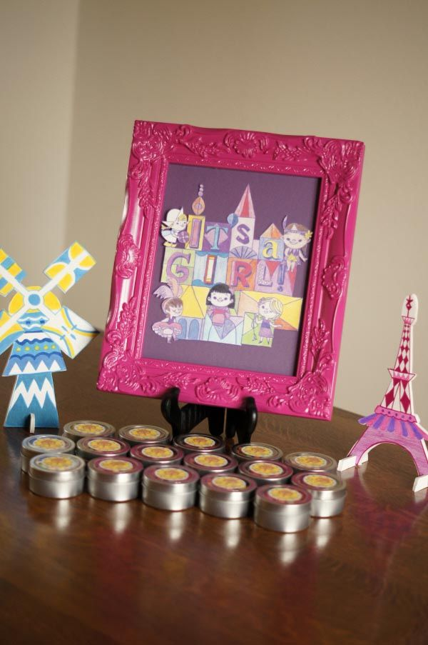 Small World Baby Shower