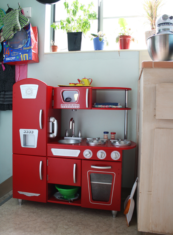 red retro play kitchen toddler height see more photos here http