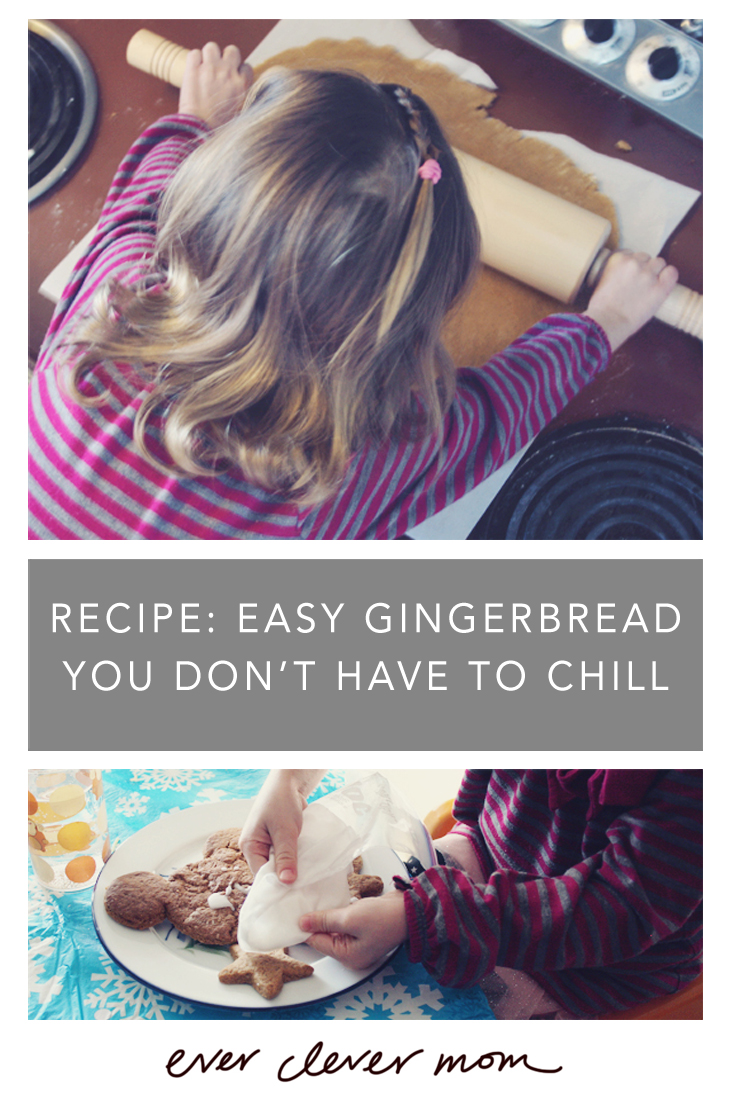 Recipe- Easy Gingerbread You Don't Have to Chill