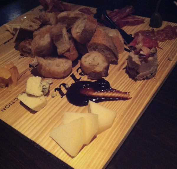 Cheese plate at Carpe Diem