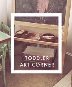 toddler-art-corner