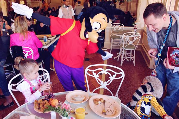 Character breakfast. 10 tips for taking little kids to Disneyland. See the full list here: http://everclevermom.com/2014/02/10-tips-for-taking-little-kids-to-disneyland/