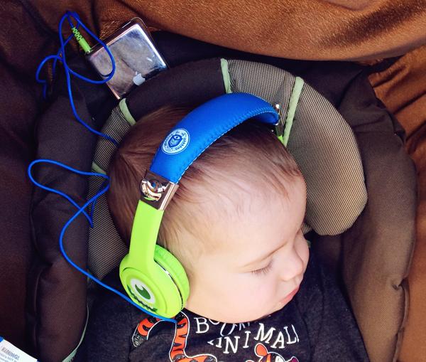Baby headphones. 10 tips for taking little kids to Disneyland. See the full list here: http://everclevermom.com/2014/02/10-tips-for-taking-little-kids-to-disneyland/