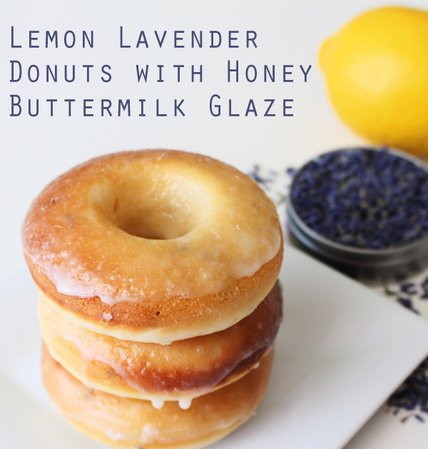 Recipe: Lemon Lavender Donuts with Honey Buttermilk Glaze