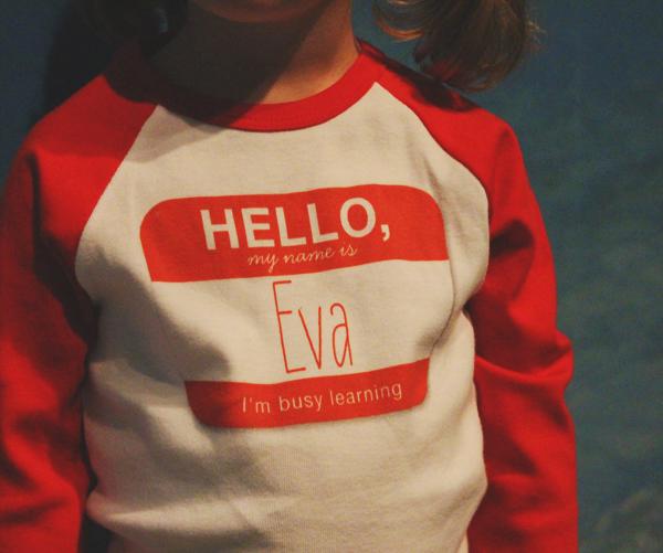 Homeschool shirt by Petite Lemon