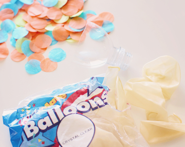 Glitter Balloons and Confetti Balloons Made Easy