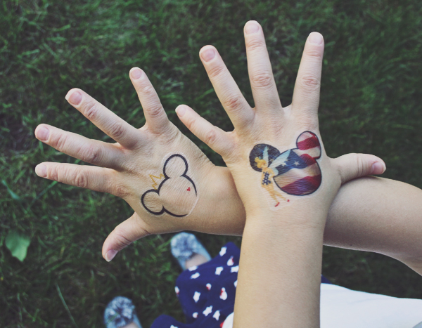 Mickey Mouse Disney tattoos DIY