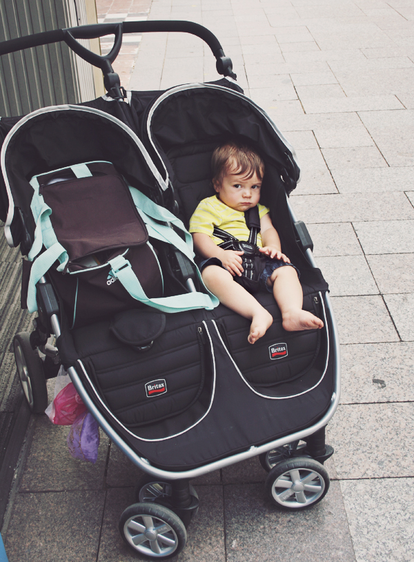 City double stroller