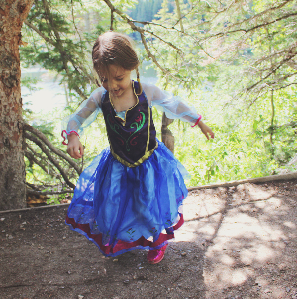 Princess Anna for Halloween #FROZENFun  #shop