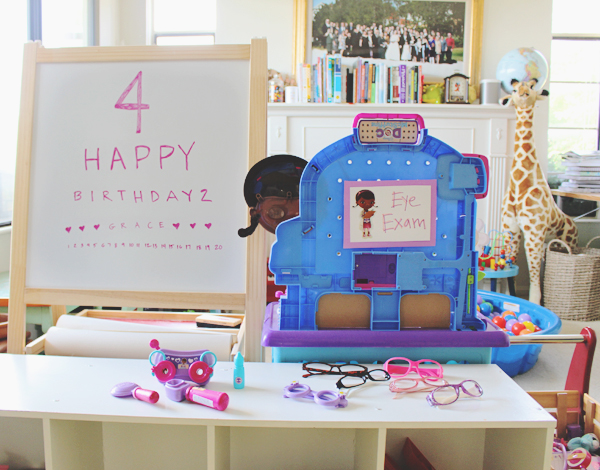 Doc McStuffins party station #JuniorCelebrates #CollectiveBias #shop