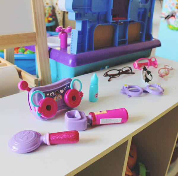 Doc McStuffins eye exam #JuniorCelebrates #CollectiveBias #shop