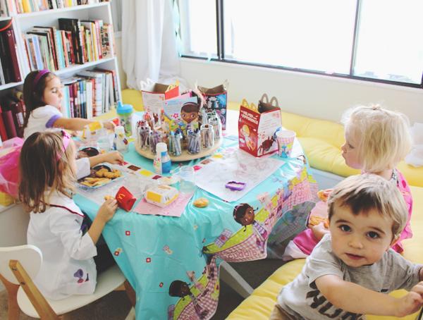 Preschool birthday lunch #JuniorCelebrates #CollectiveBias #shop