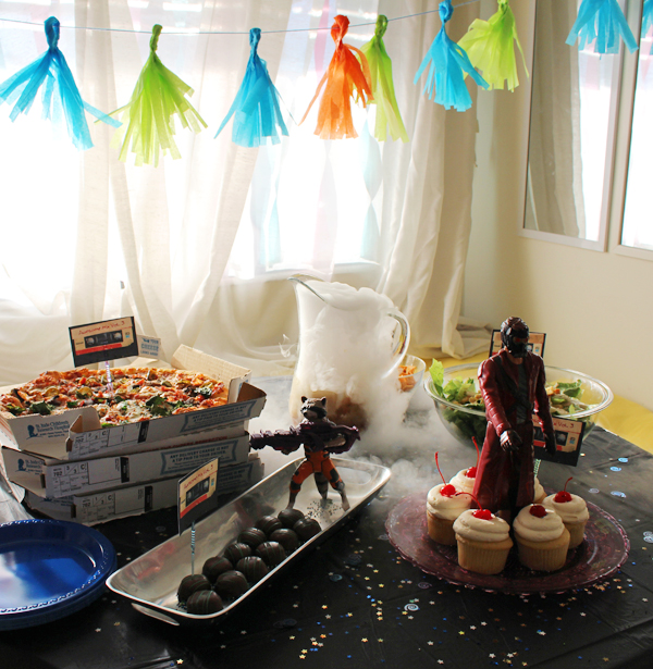 Guardians of the Galaxy party #InfinityHeroes #CollectiveBias #shop