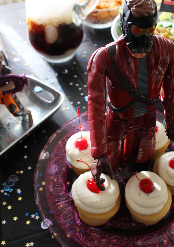 Guardians of the Galaxy cupcakes #InfinityHeroes #CollectiveBias #shop