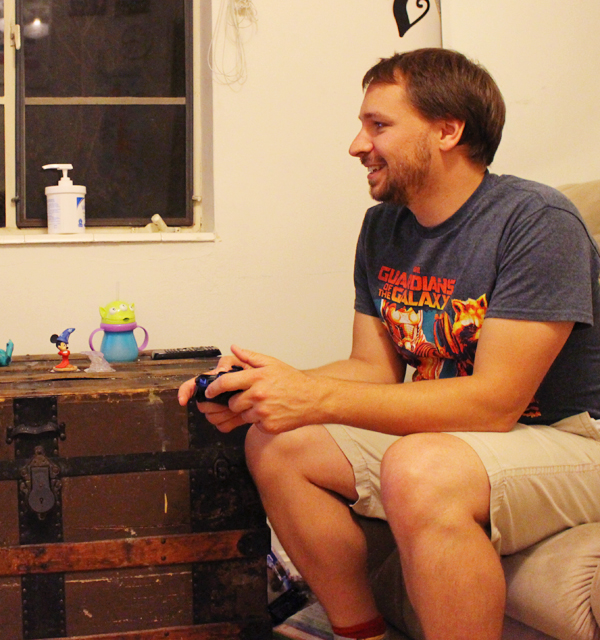 Kyle playing Disney Infinity #InfinityHeroes #CollectiveBias #shop