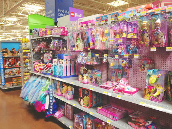Disney princess toys at Walmart #DisneyBeauties #shop
