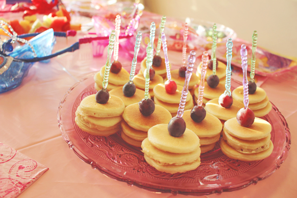 Mini pancake stacks for princesses #DisneyBeauties #shop