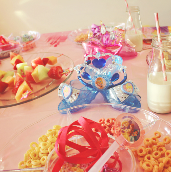 Party favors at princess party #DisneyBeauties #shop
