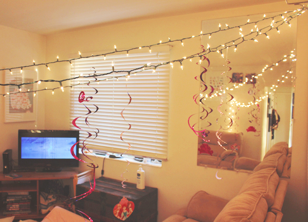 Fairy lights at slumber party #DisneyBeauties #shop