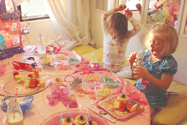Activity at princess party #DisneyBeauties #shop