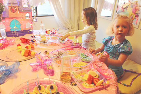 Enjoying the Disney princess party #DisneyBeauties #shop