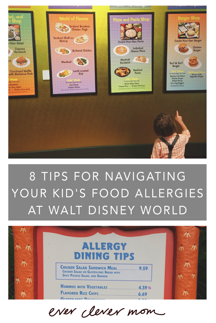 8 Tips for Navigating Your Kid's Food Allergies at Walt Disney World