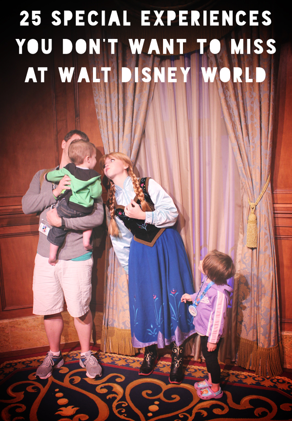 25 Special Experiences You Don't Want to Miss at Walt Disney World