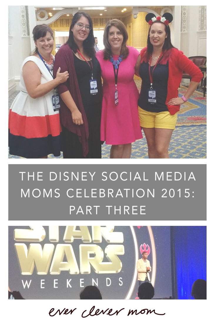Recap of the Disney Social Media Moms Celebration 2015- Part Three