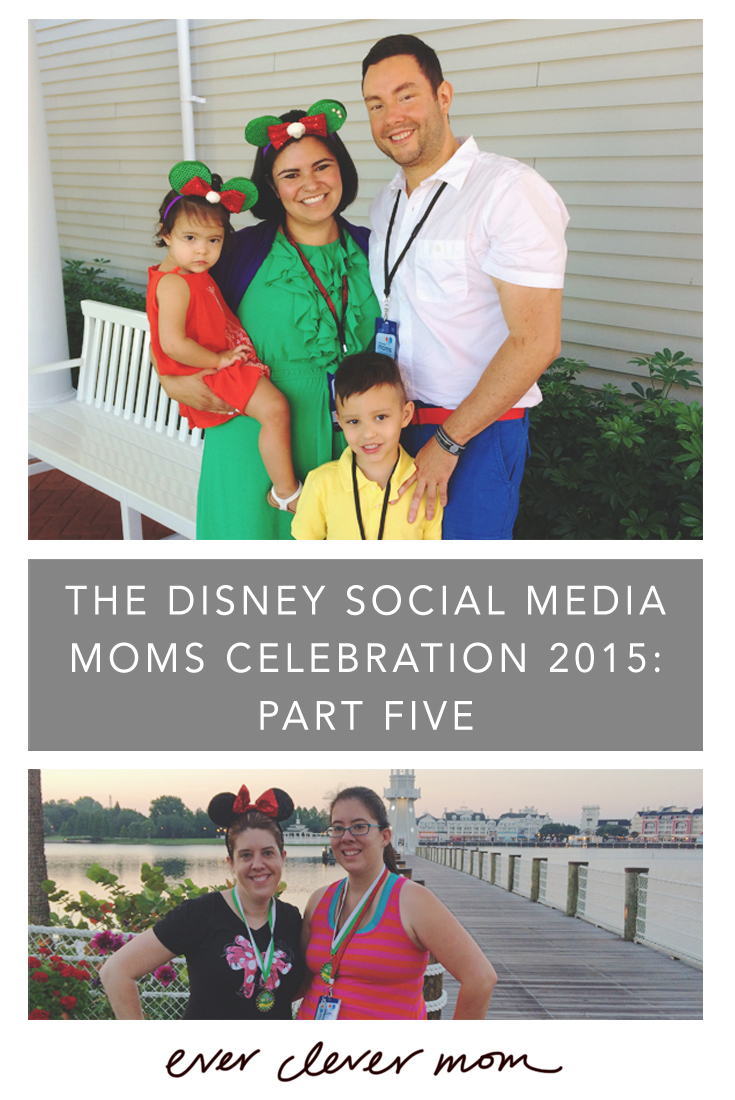 Recap of the Disney Social Media Moms Celebration 2015- Part Five