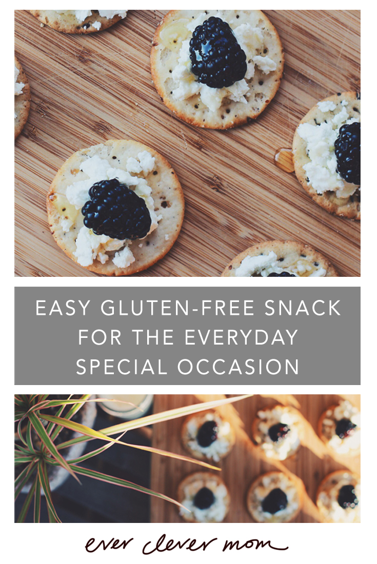 Easy Gluten-Free Snack for the Everyday Special Occasion