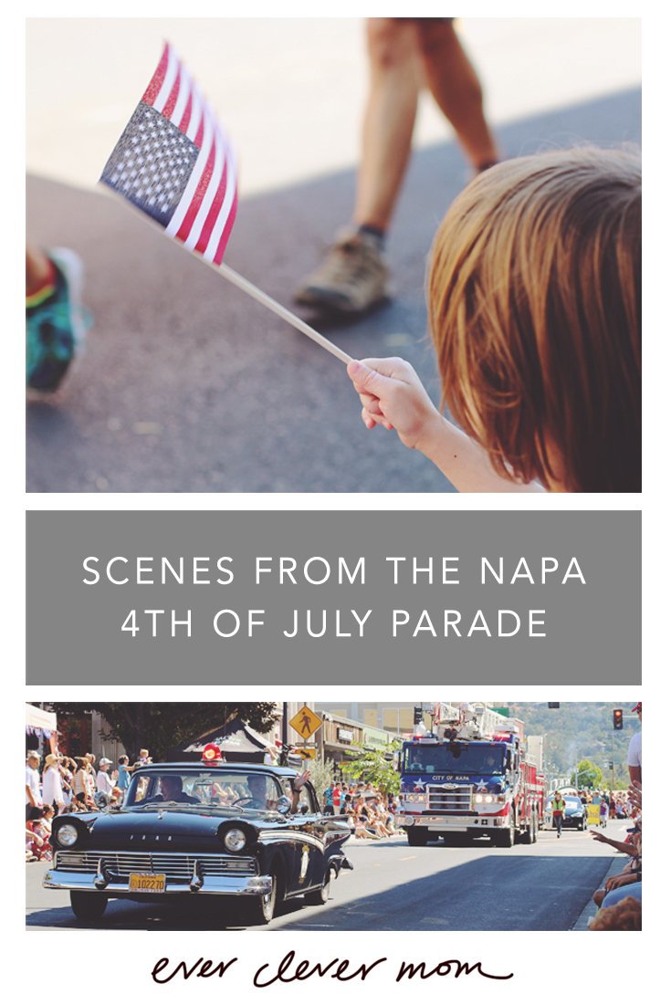 Scenes from the Napa 4th of July Parade