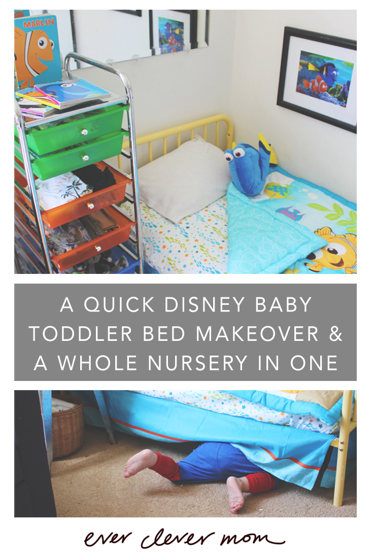 A Quick Disney Baby Toddler Bed Makeover and a Whole Nursery in One Cart