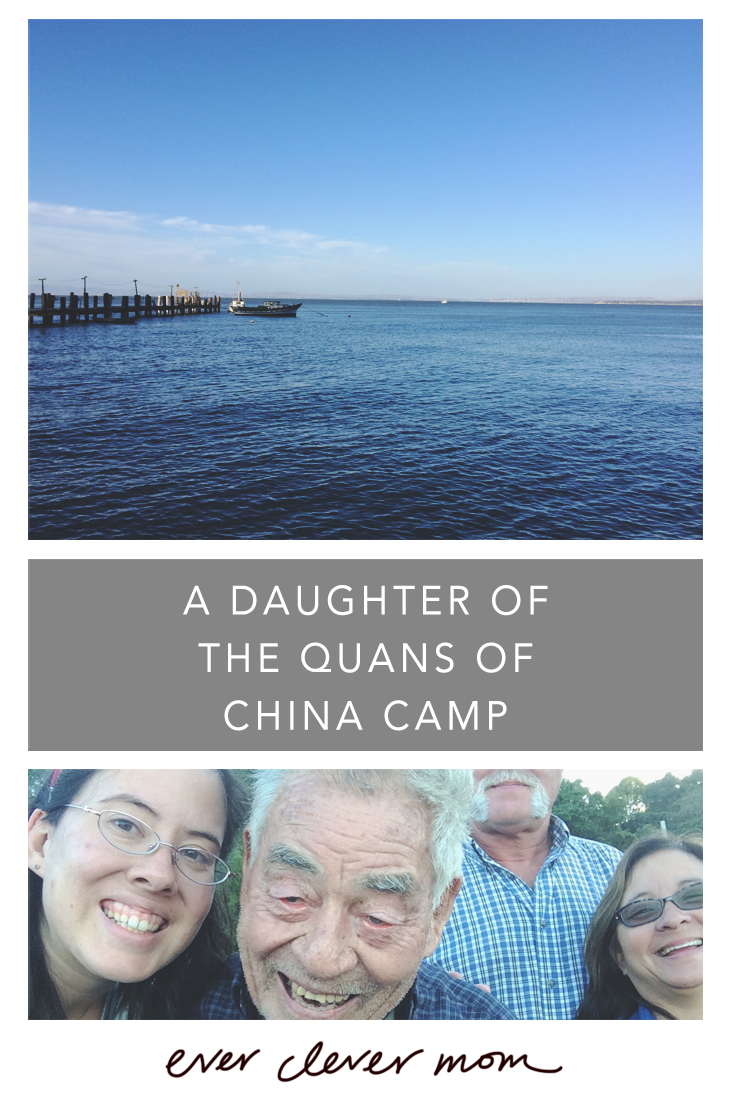 A Daughter of the Quans of China Camp