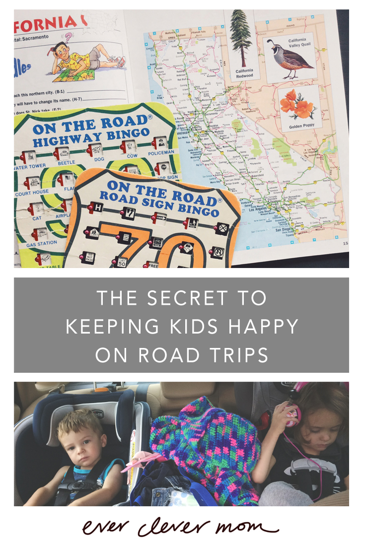 The Secret to Keeping Kids Happy on Road Trips