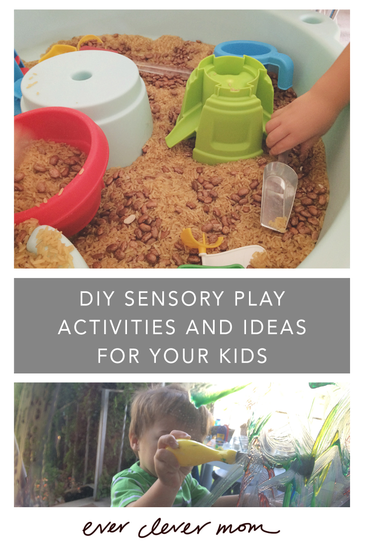 DIY Sensory Play Activities and Ideas for Your Kids