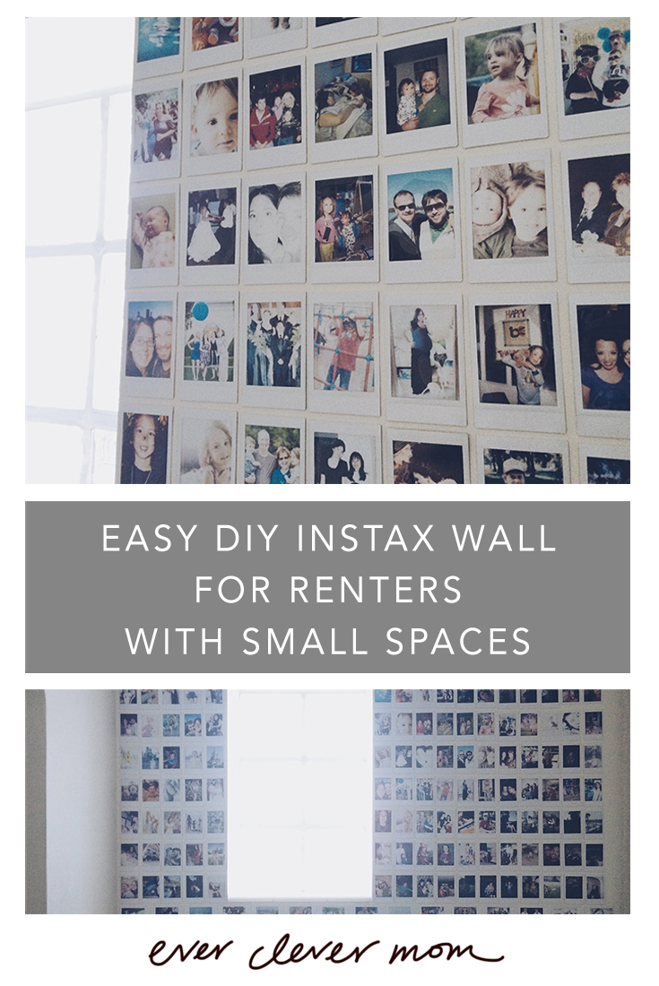 Easy DIY Instax Wall for Renters with Small Spaces