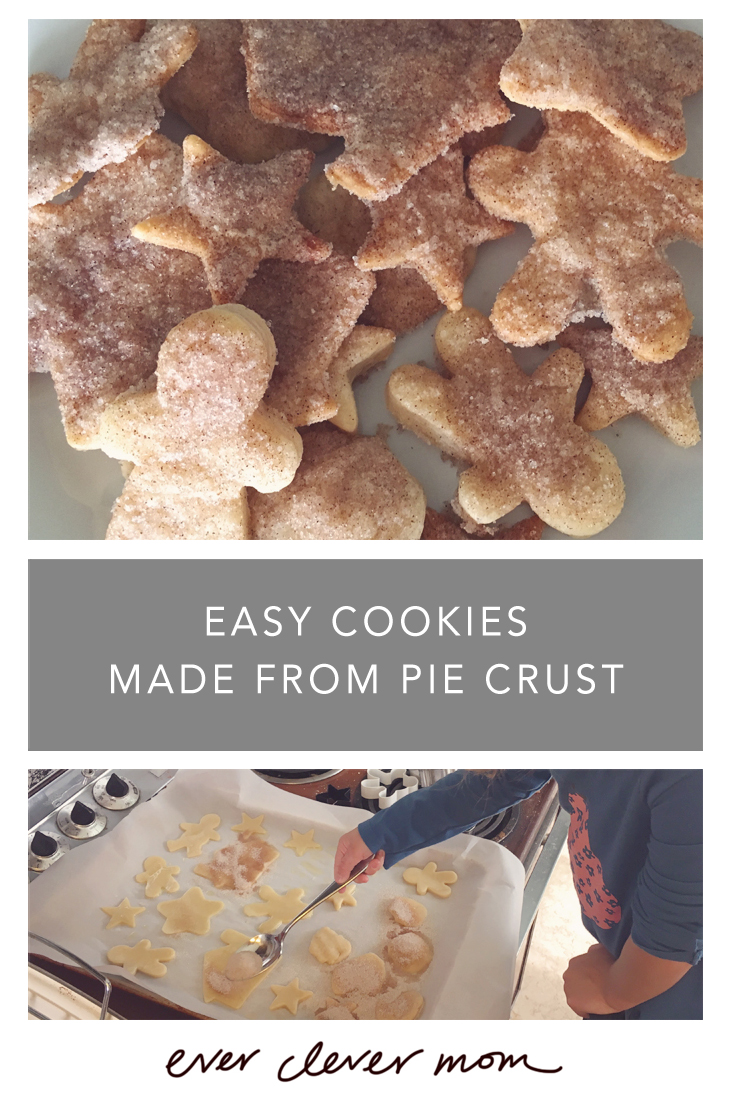 Easy Cookies Made from Pie Crust