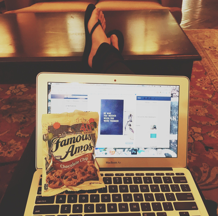 Blogger break
