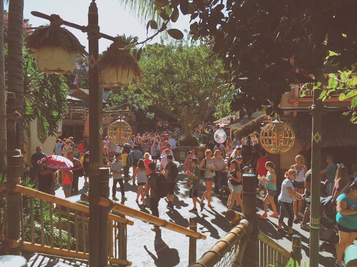 Adventureland in Disneyland