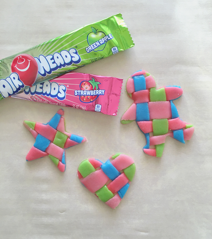 Woven Airheads Candy Craft