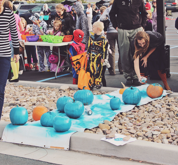 Teal pumpkins for food allergies
