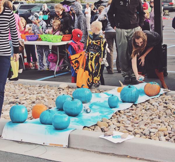 Teal pumpkins for food allergies