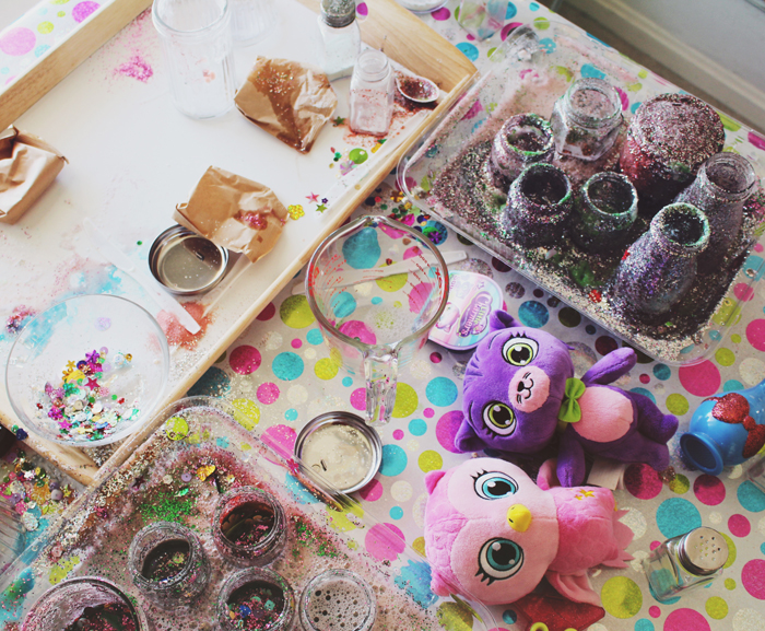 Little Charmers inspired potion making playdate