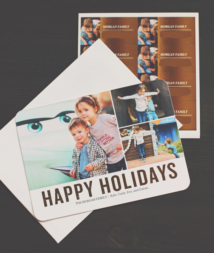 Foil Holiday Cards from Shutterfly1