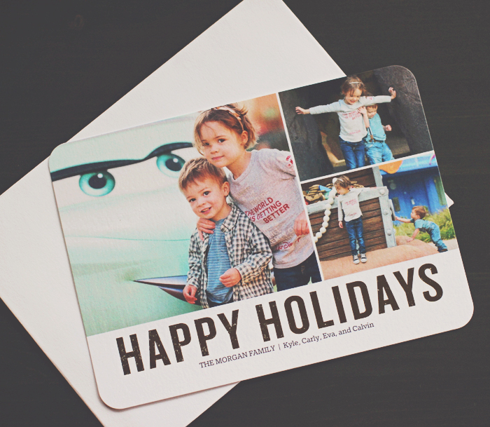 Foil Holiday Cards from Shutterfly2
