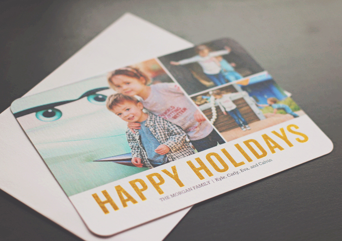 Foil Holiday Cards from Shutterfly3