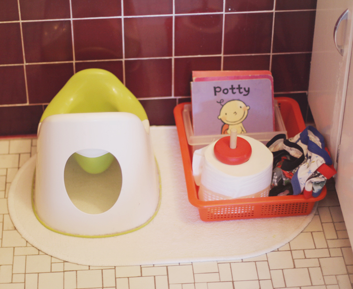 Potty station