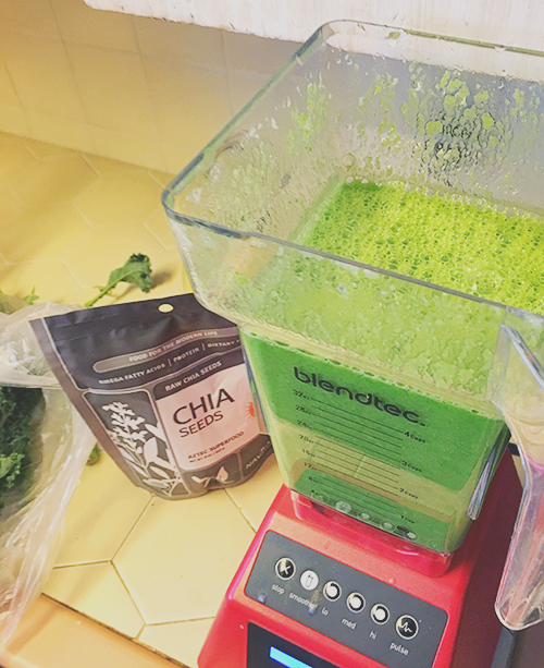 Blendtech green smoothies