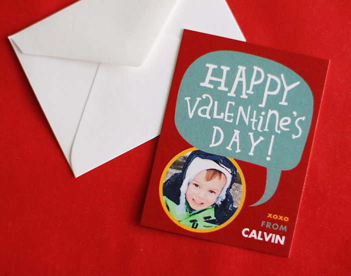 Class valentines from Tiny Prints